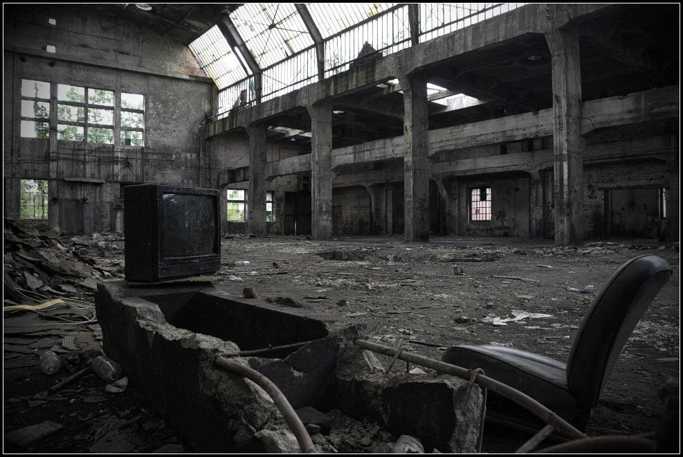 Warszawa zniszczona